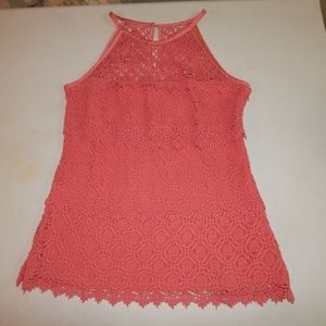 Kenar Size S Crotched Layered Sleeveless Top